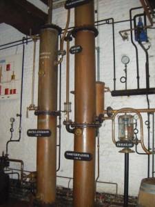 Distillery apparatus