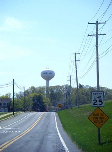 Mount Airy water tower