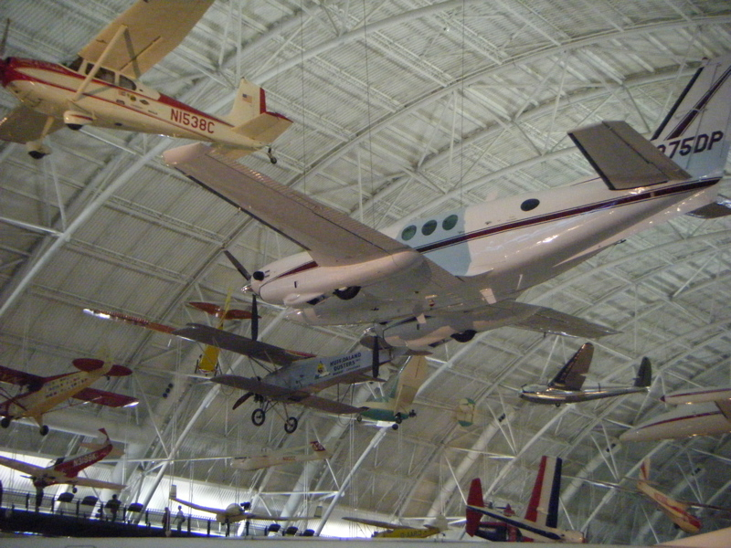 Lotsa planes at the National Air & Space Museum