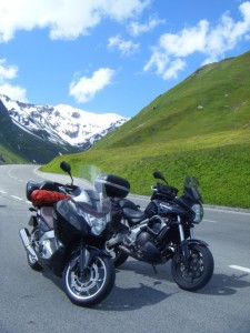 Going down the Grossglockner