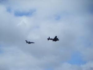 Lancaster and Tornado