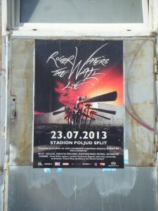 Poster in Split