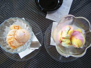 Dalmatian ice cream