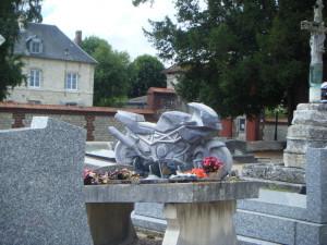 Motorbike memorial
