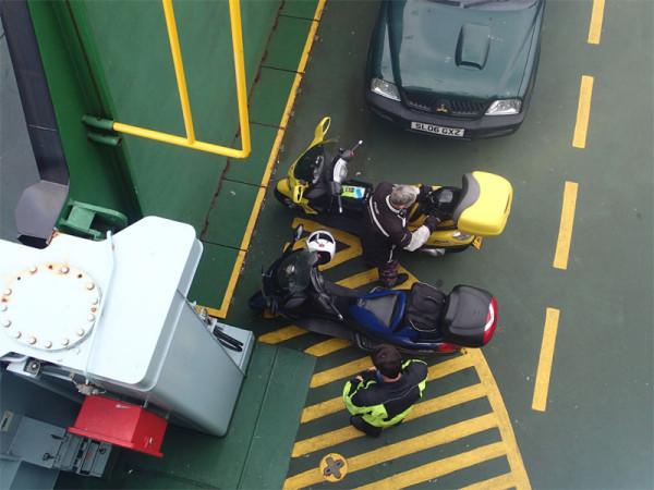 Final ferry
