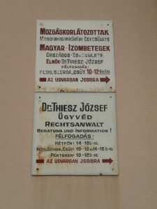 Hungarian signs!