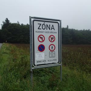 Scary Czech sign