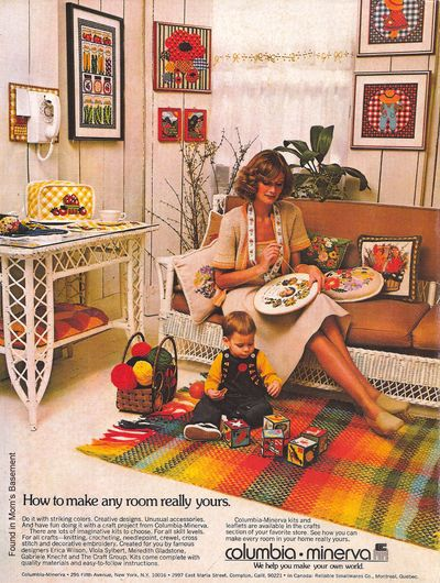 Contest 1970s Decor Vintage Ads