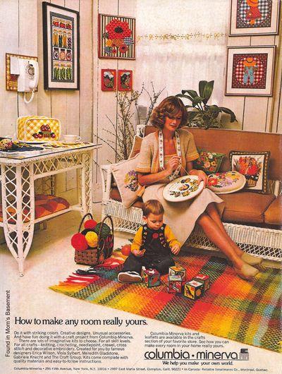 Contest 1970s Decor Vintage Ads