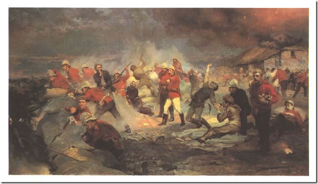 """Lady Elizabeth Butler, """"The Defence of Rorke's Drift"""" (1879)"""