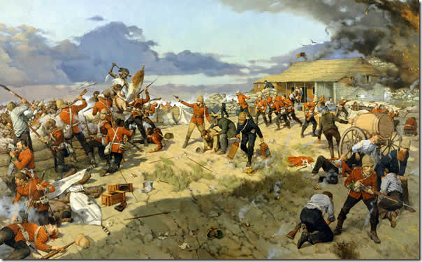 Defence of Rorkes Drift (Keith Rocco)