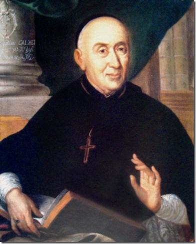 Dom  Augustin Calmet -  Abbé de Senones