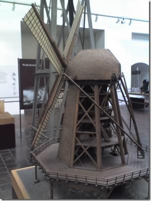 Smoсkmill -ветряная мельница голландского типа (с вращающейся башней) северная Германия, около 1880