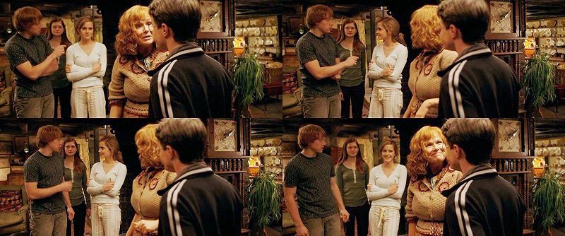 who was ron dating in the half blood prince Time book critic lev grossman harry potter and the half-blood prince ron and hermione are at an all-time high when ron starts dating lavender harry is.