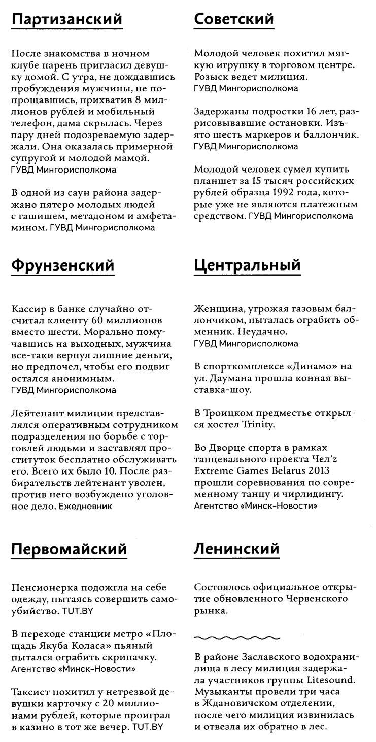 криминал в Минске, май 2013