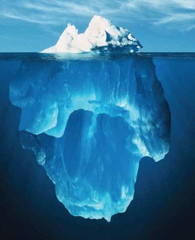Iceberg-antarktida