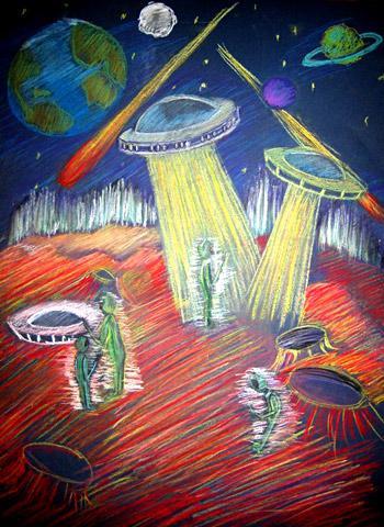 детские рисунки космоса и планет красками круглосуточный микрозайм онлайн