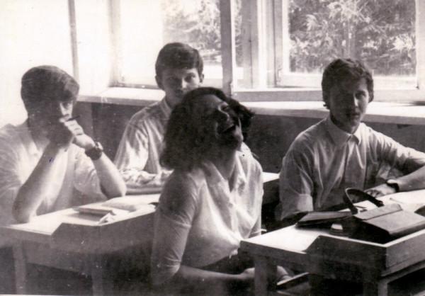 школьные фото  1972