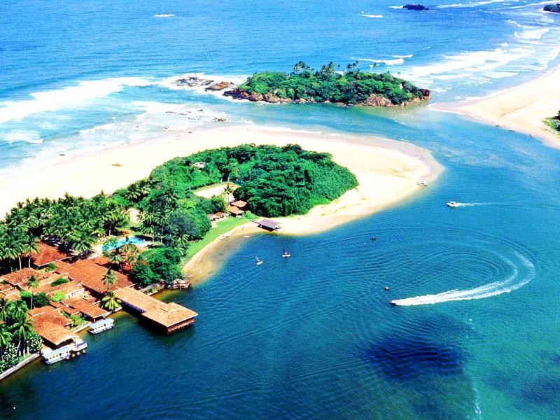 остров медитации ранее, Бентота, Шри Ланка. i_and_travels