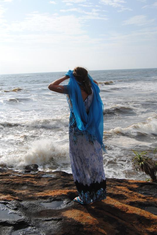 океан с острова медитации, Шри Ланка. i_and_travels
