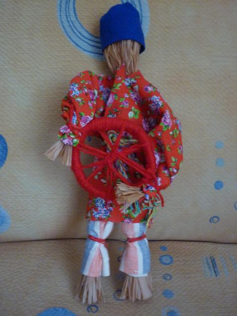 Толстушка-костромушка оберег от одиночества мастер