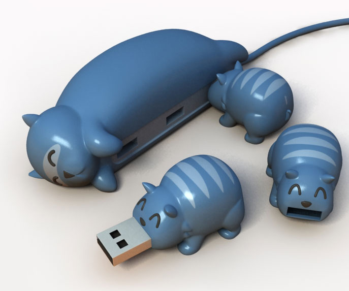 cat_buddies_usb_hub