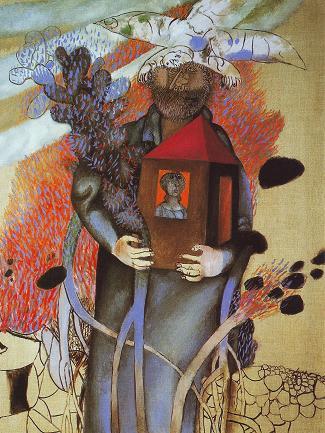 Человек, несущий дом. 1998г.