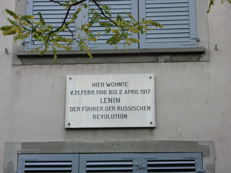 Цюрих. Надписи