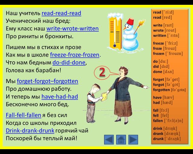 Популярные английские глаголы с переводом и примерами ...