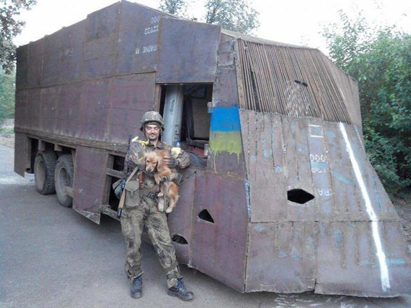 Техника великих укров, или чем воюет армия Украины
