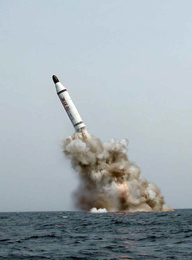 3. North Korea test-fires domestic SLBM 3
