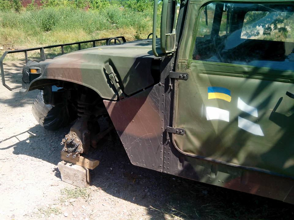 Disappointment with US Humvees in Ukraine