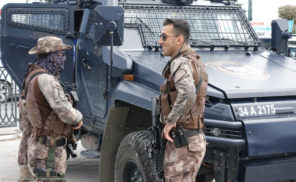 Полиция Стамбула готовится к отражению террористических угроз