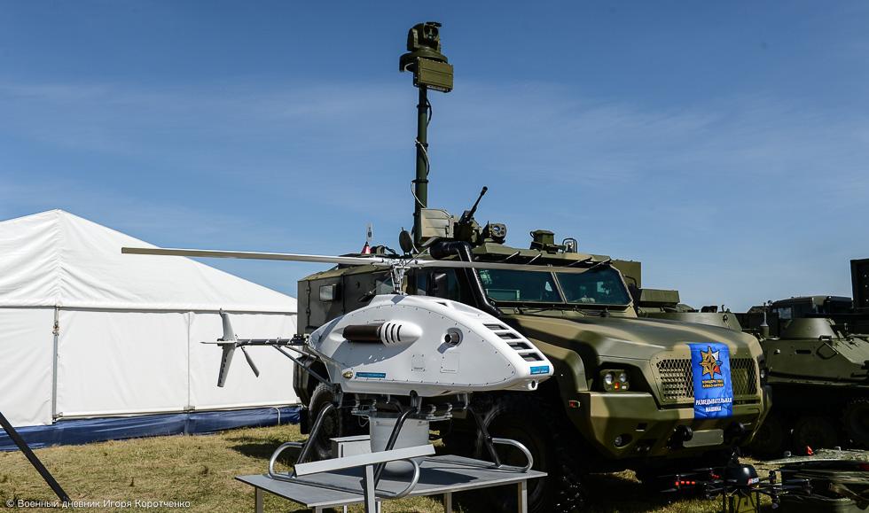 Беспилотник как стандартная опция для разведывательных машин