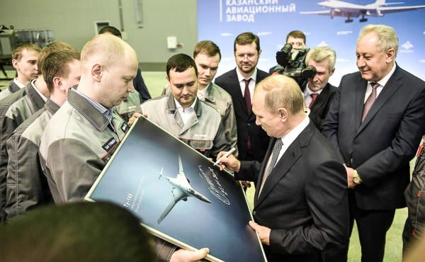 Подписан контракт стоимостью 150 млрд. рублей на закупку десяти Ту-160М для ВКС России