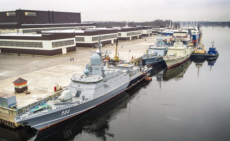 Малый ракетный корабль «Одинцово» вышел в Балтийское море для проведения