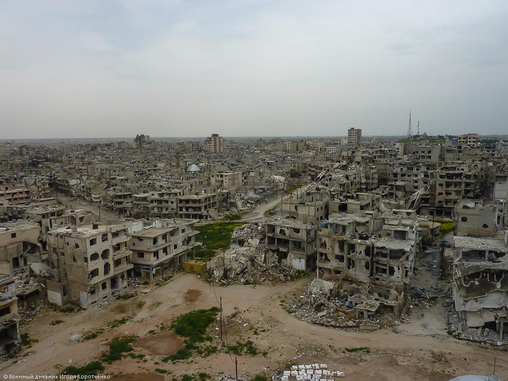 Хомс вид с Мечети Халида ибн Аль-Валид