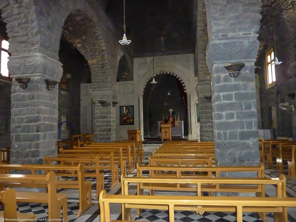 Церковь Пояса Богородицы (на арабском она называется Ум аль-Зуннар) в Хомсе 3