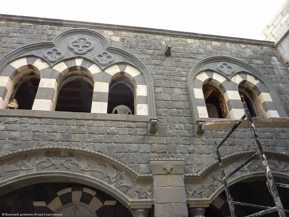 Церковь Пояса Богородицы (на арабском она называется Ум аль-Зуннар) в Хомсе 6