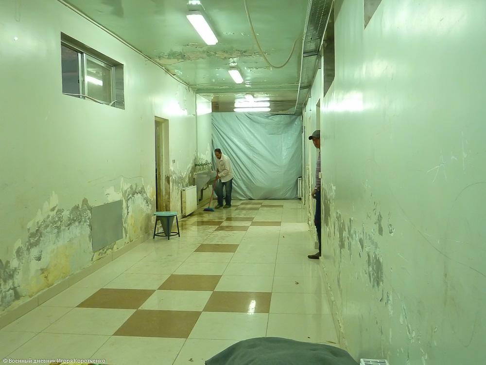 Внутри центра ВПЛ в пригороде Дамаска 2