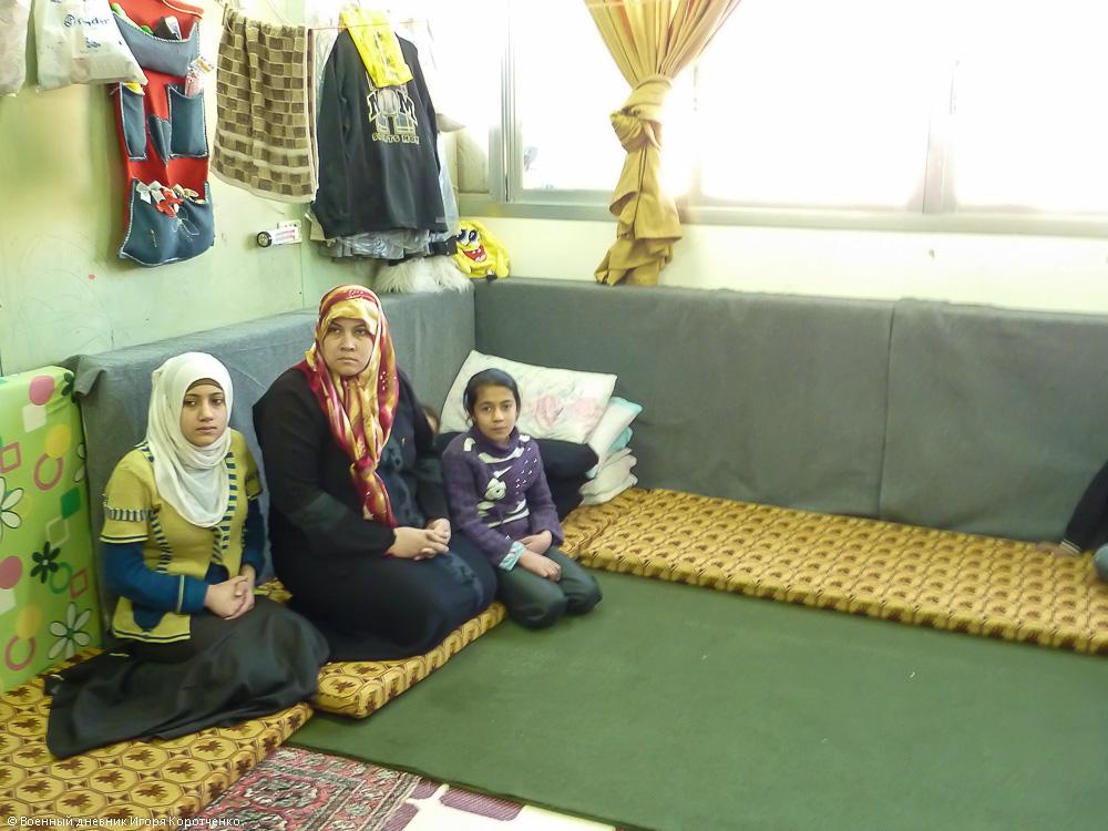Внутри центра ВПЛ в пригороде Дамаска 6