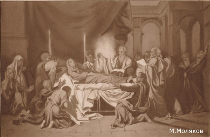 Эскиз для Иконостаса