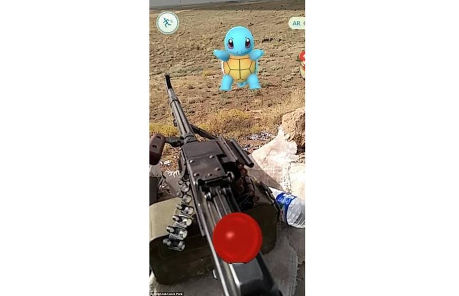 Покемон на линии фронта