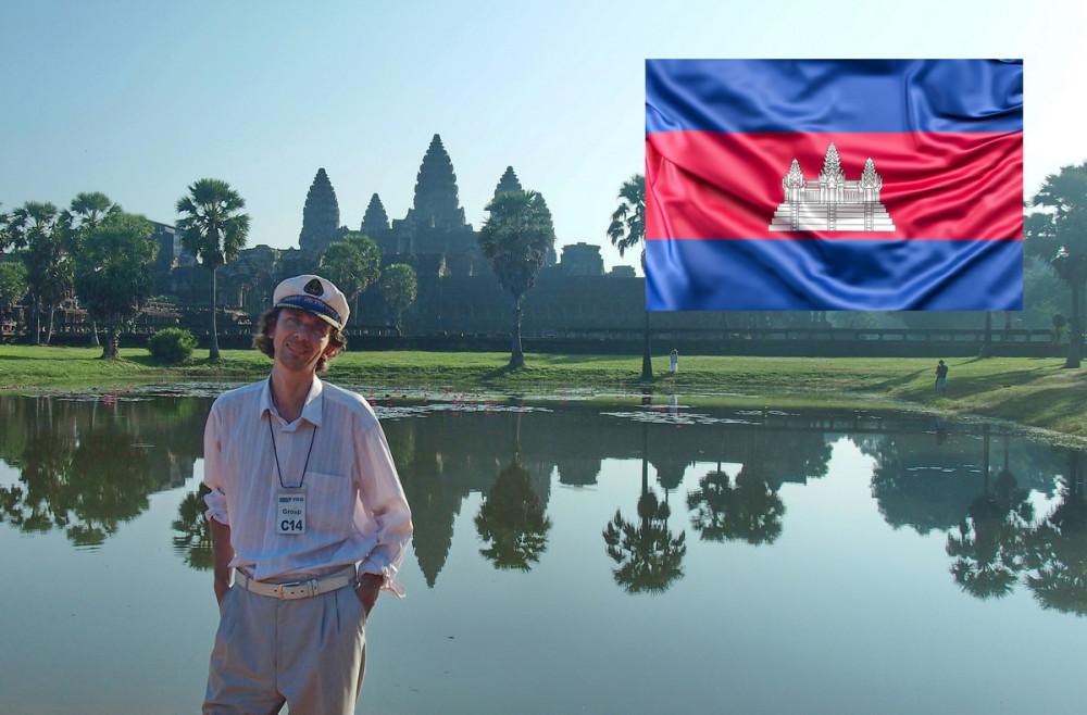 Для камбоджийцев Ангкор настолько значим, что его поместили на национальный флаг как главный символ страны