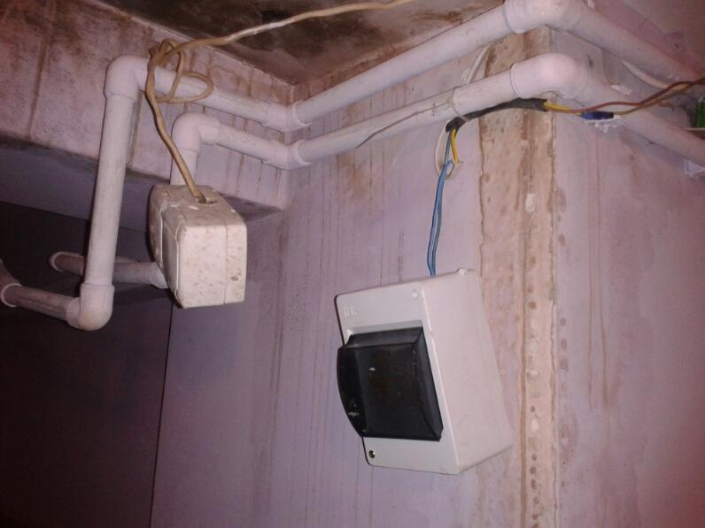 Злосчастный рубильник и потолок
