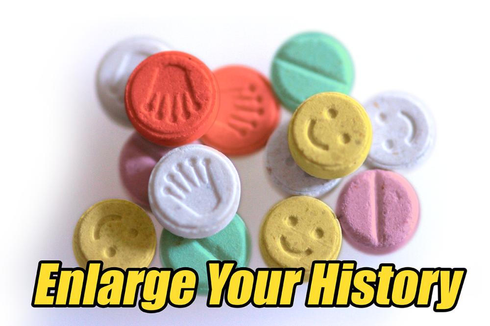 Enlarge history
