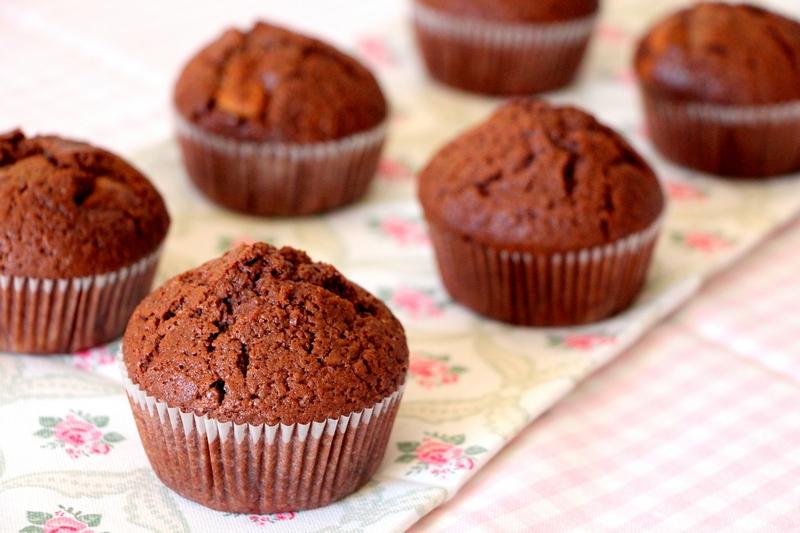 Кексы шоколадные на сметане рецепты с фото