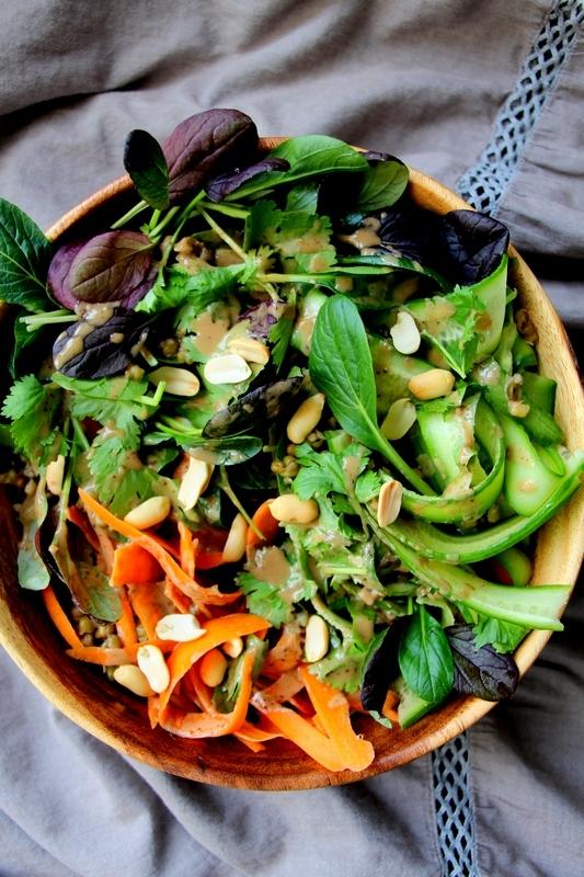 Салат с машем