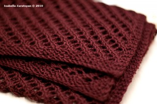 Scarf for Marisol, Spring 2010