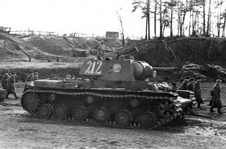 О майоре Седых и танке КВ-1 с бортовым номером 212